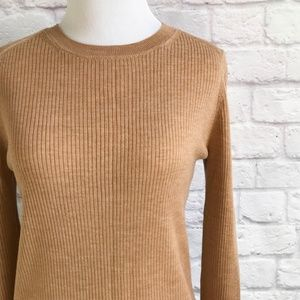 Banana Republic Ribbed Merino Wool Sweater